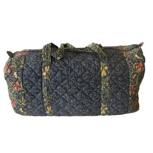 QUILTED TOTE/OVERNIGHT BAG